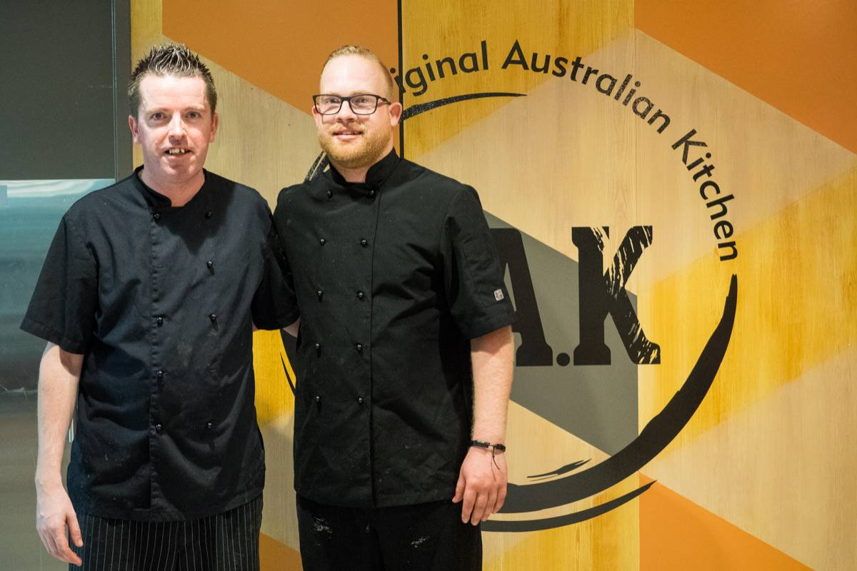 Zach Green pop up Indigenous dinner at The O.A.K Darwin