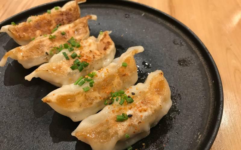 Le Bistro Rakuya dumplings